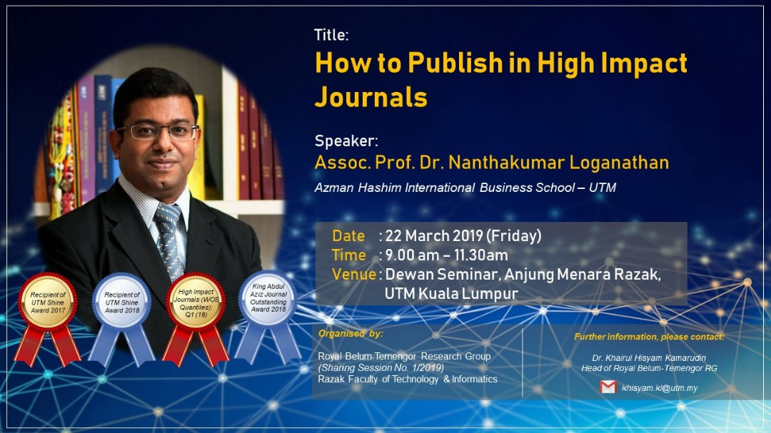 """How to publish in high impact journals"