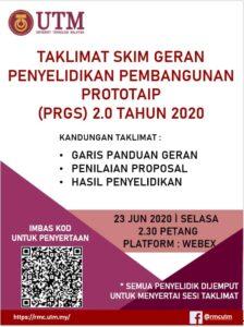 TAKLIMAT GERAN PRGS 2020