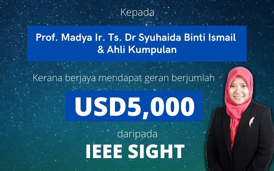 TAHNIAH PM IR TD DR SYUHAIDA ISMAIL