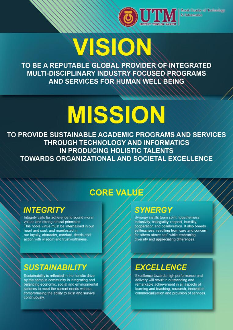 Vision and Mission of Razak Faculty   Razak Faculty of