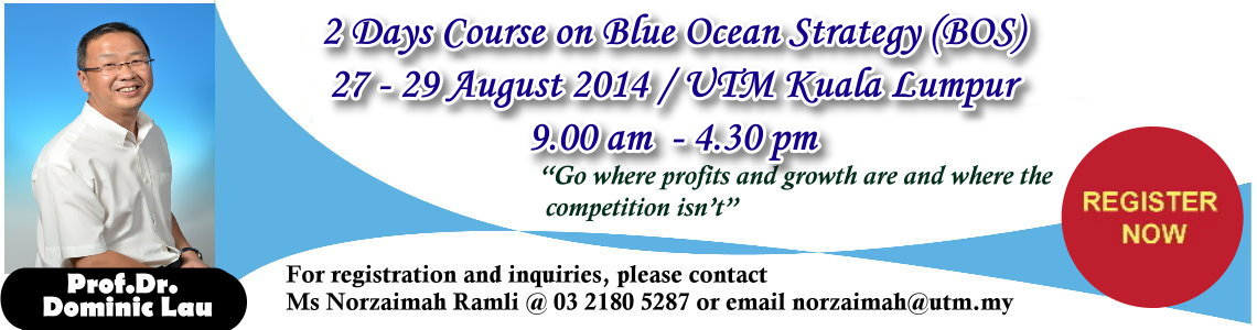 2 Days Course on Blue Ocean Strategy (BOS)