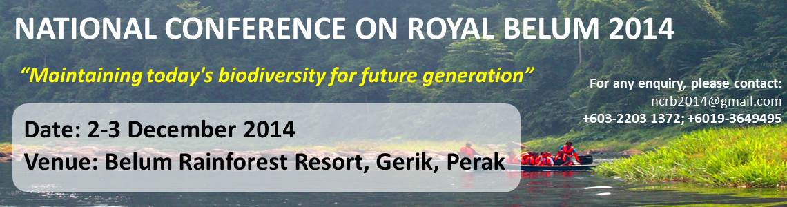 National Conference on Royal Belum 2014