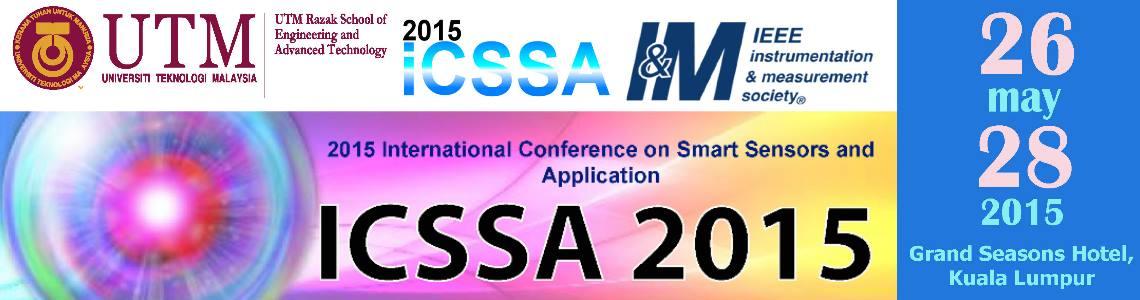 International Conference on Smart Sensors and Application (ICSSA) 2015