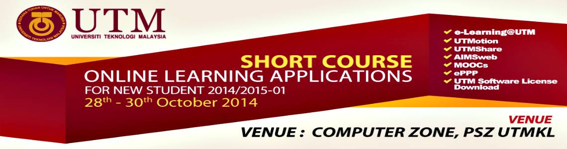 SHORT COURSE ONLINE LEARNING APPLICATIONS