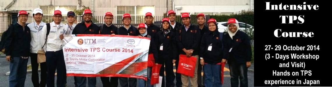 Intensive Toyota Production System (TPS) Course 2014