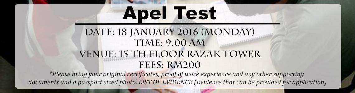 Apel Test