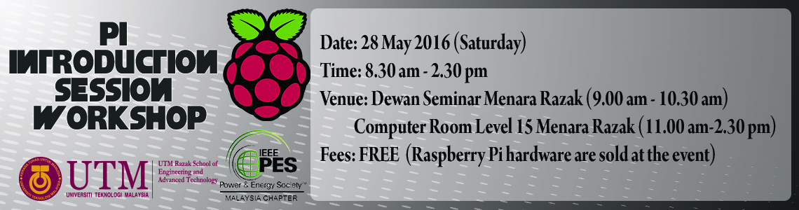 Raspberry Pi Introduction Session Workshop.