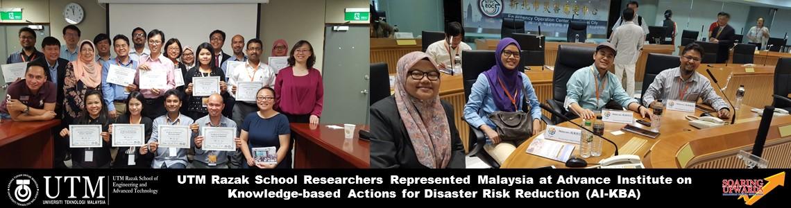 UTM Razak School Researchers Represented Malaysia