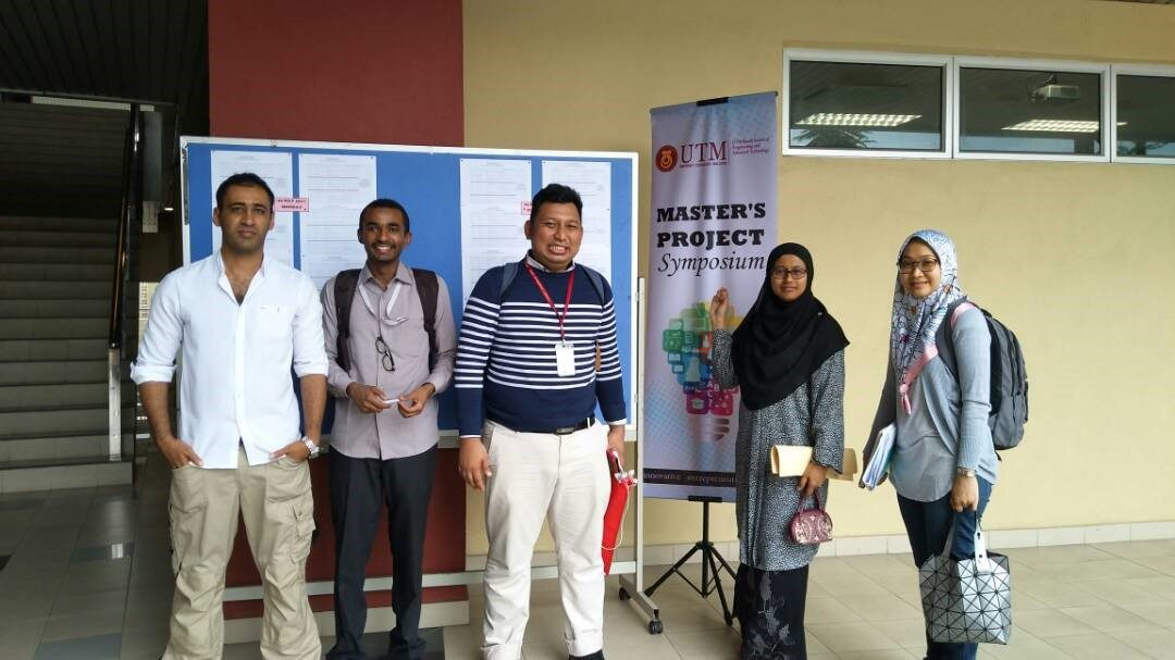 The 2nd Master's Project Symposium organized by UTM Razak School