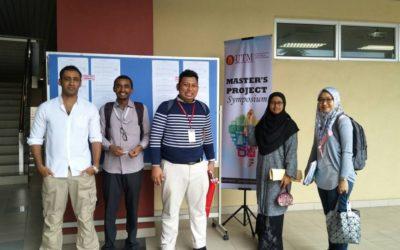 The 2nd Master's Project Symposium organized by UTM Razak School