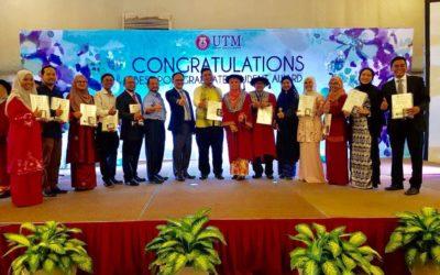 Congratulation to all UTM Razak School graduate