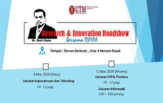 Research & Innovation Roadshow bersama TDPIPA